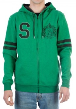 Harry Potter Slytherin Fleece Hoodie