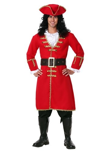 Captain Blackheart Plus Size Men's Costume