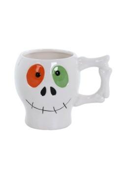 Halloween Festive Ceramic Skull Mug