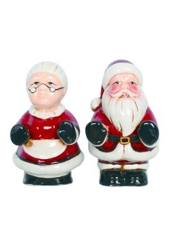 Mr & Mrs Claus Salt and Pepper Shakers