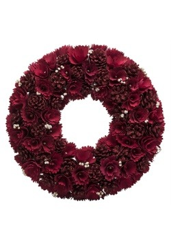 "Red Rose 18"" Wreath"