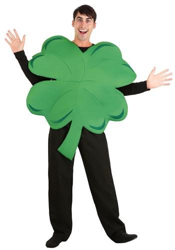 Four Leaf Clover Mascot Costume
