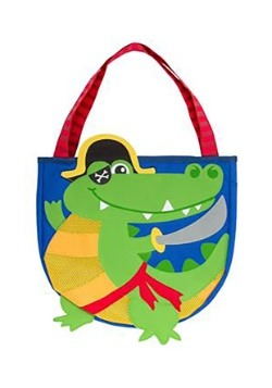 Stephen Joseph Pirate Alligator Beach Tote
