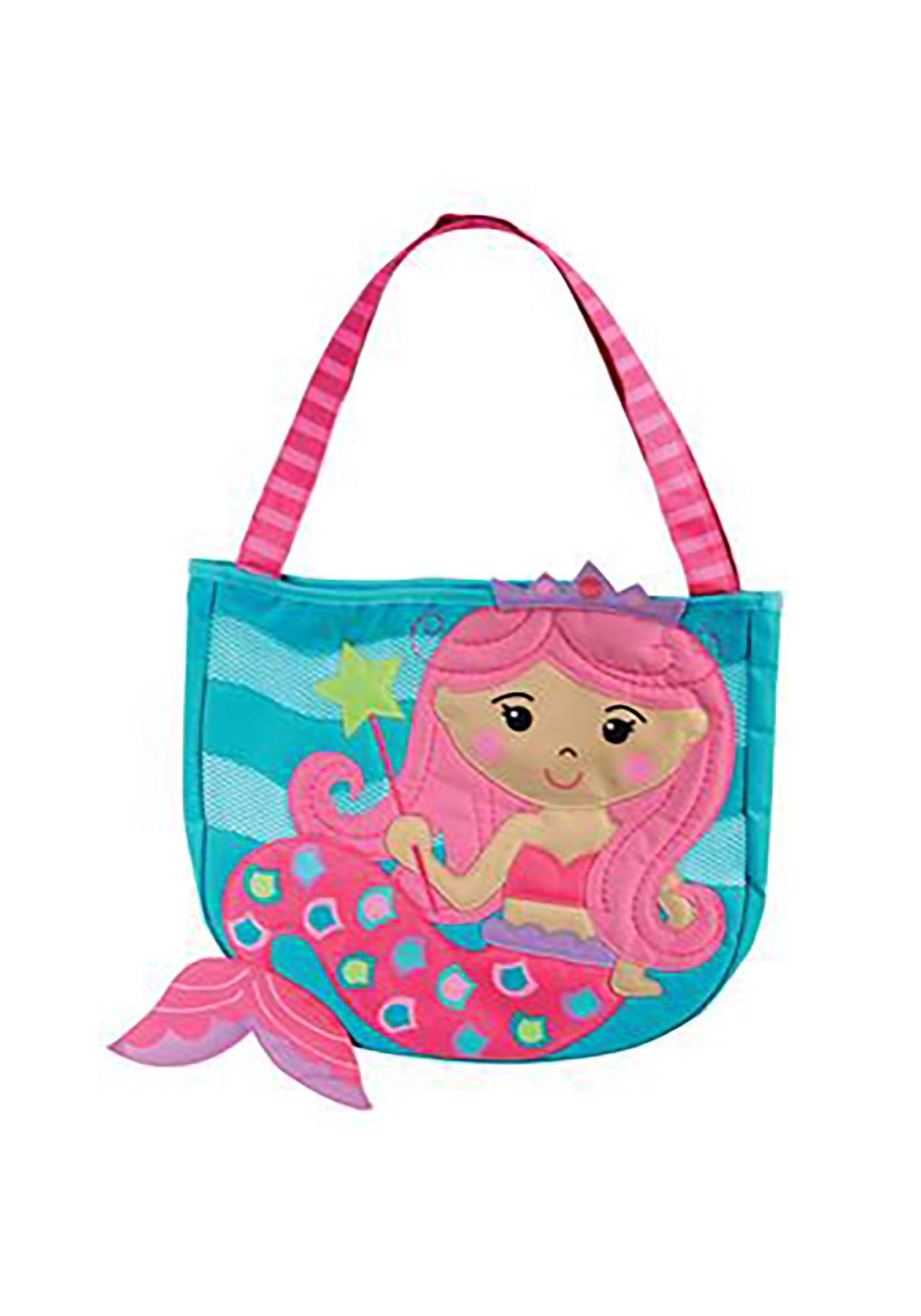 Mermaid Funny Shopper Shoulder Mermaids Have More Fun Large Beach Tote Bag