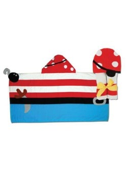 Stephen Joseph Pirate Hooded Towel
