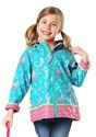 Stephen Joseph Mermaid All Over Print Raincoat