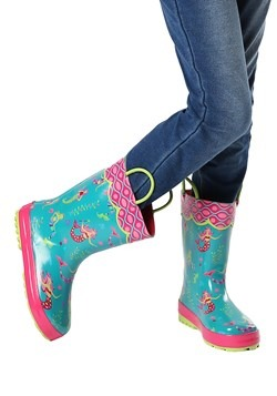 Stephen Joseph Mermaid All Over Print Rainboot1