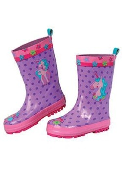 Stephen Joseph Unicorn Child Rain Boots