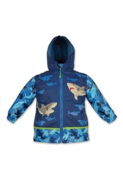 Stephen Joseph Shark Child Raincoat
