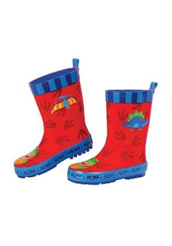 Stephen Joseph Dinosaur Child Rain Boots