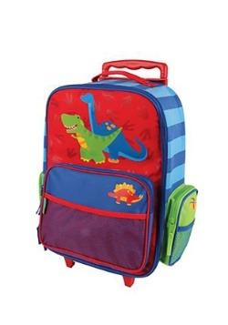 Stephen Joseph Dinosaur Rolling Luggage