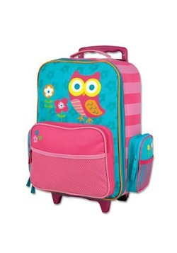 Stephen Joseph Owl Rolling Luggage
