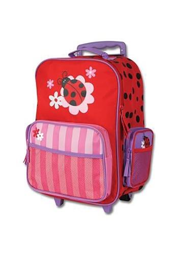 Stephen Joseph Ladybug Rolling Luggage