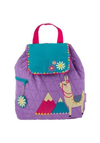 Stephen Joseph Llama Quilted Backpack