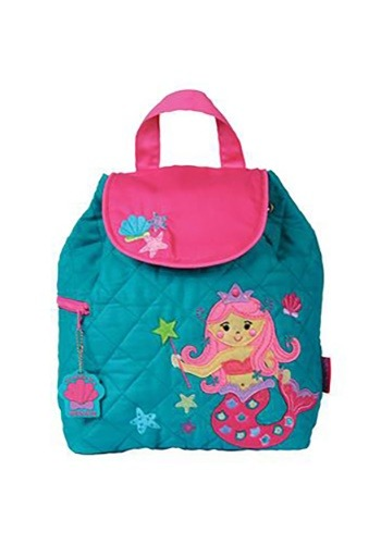 Stephen Joseph Mermaid Quilted Backpack
