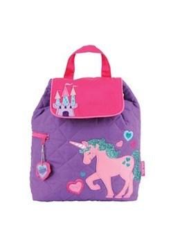 Stephen Joseph Unicorn Quilted Backpack