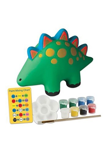 Dinosaur Paint Your Own Coin Bank from Stephen Joseph