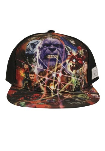 Avengers Infinity War Sublimated Cap1