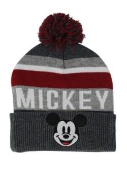 Mickey: Intarsia Pom Beanie