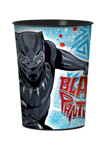 Marvel Black Panther Plastic 16 oz. Party Cup