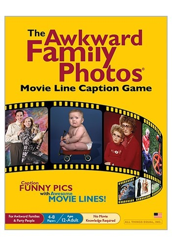 The Awkward Family Photos Movie Line Caption Party update1.1