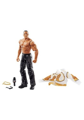 The Rock Elite Collection Action Figure