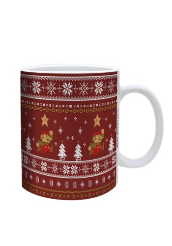Super Mario Ugly Christmas Sweater 11 oz Mug