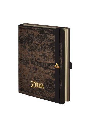 Zelda Hyrule Map Premium Journal