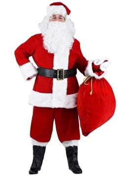 Plus Size Premium Santa Suit Costume Update Main