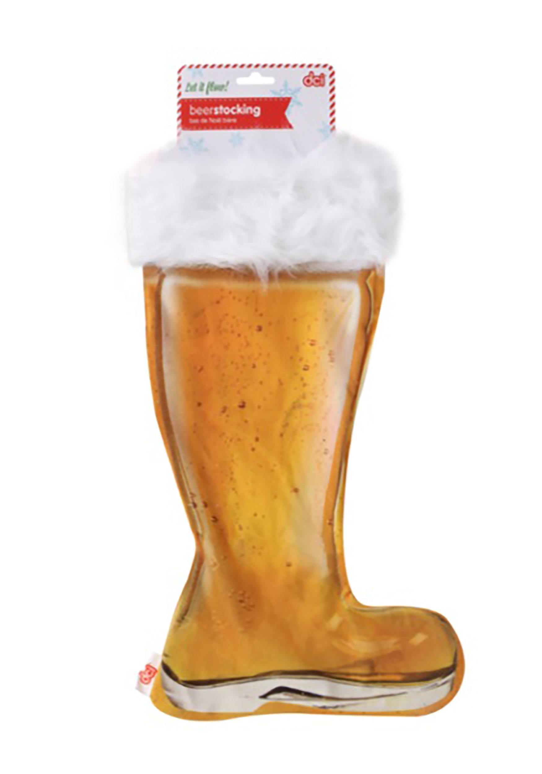 Christmas Beer.Beer Boot Stocking