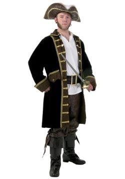 Mens Realistic Pirate Plus Size Costume