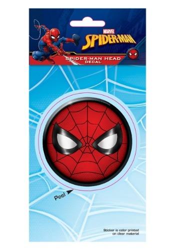 Spider-Man Head Decal