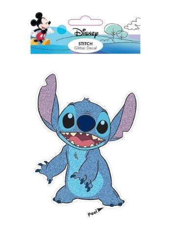 Lilo and Stitch Stitch Glitter Decal