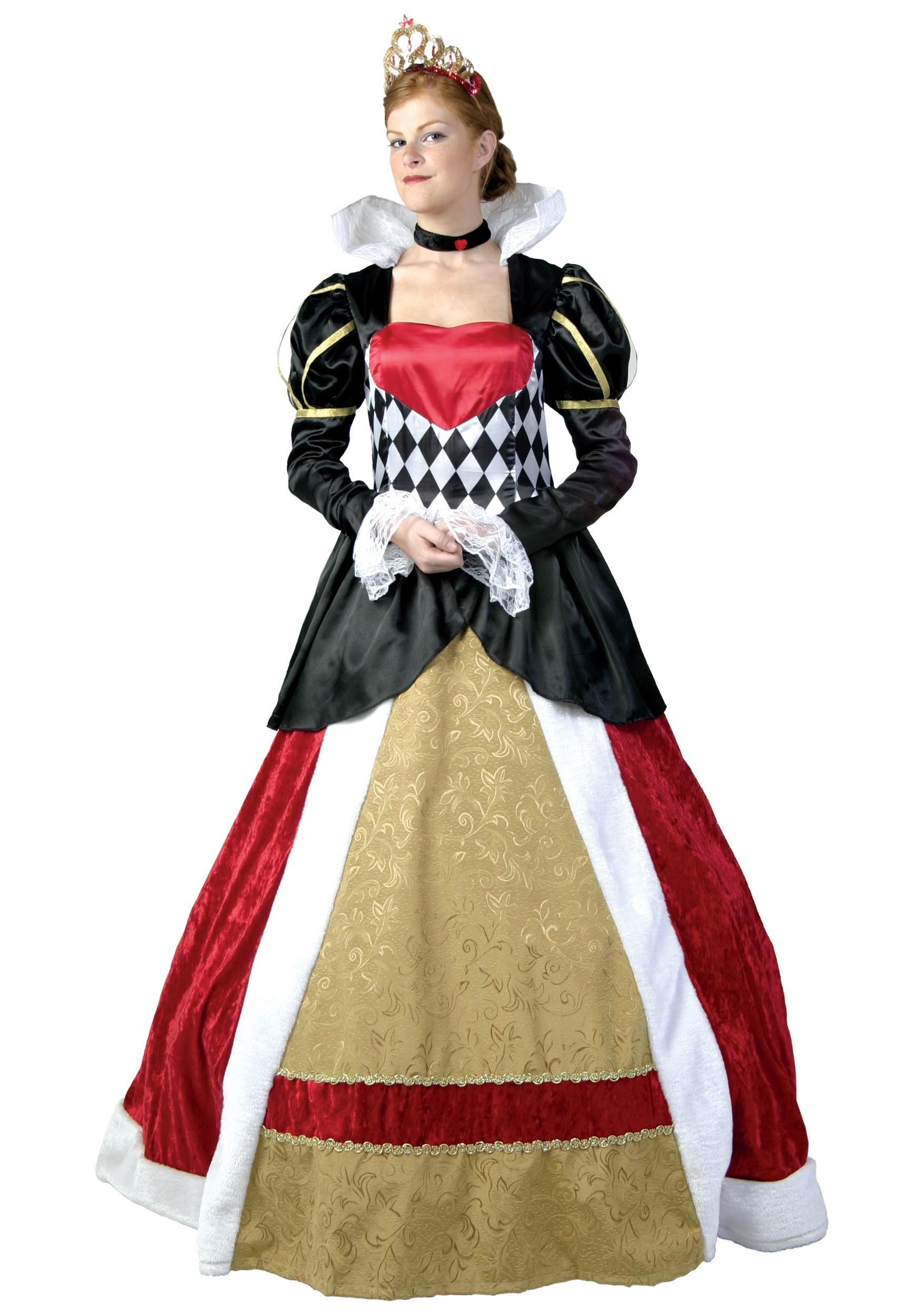 Elite Queen of Hearts Plus Size Costume