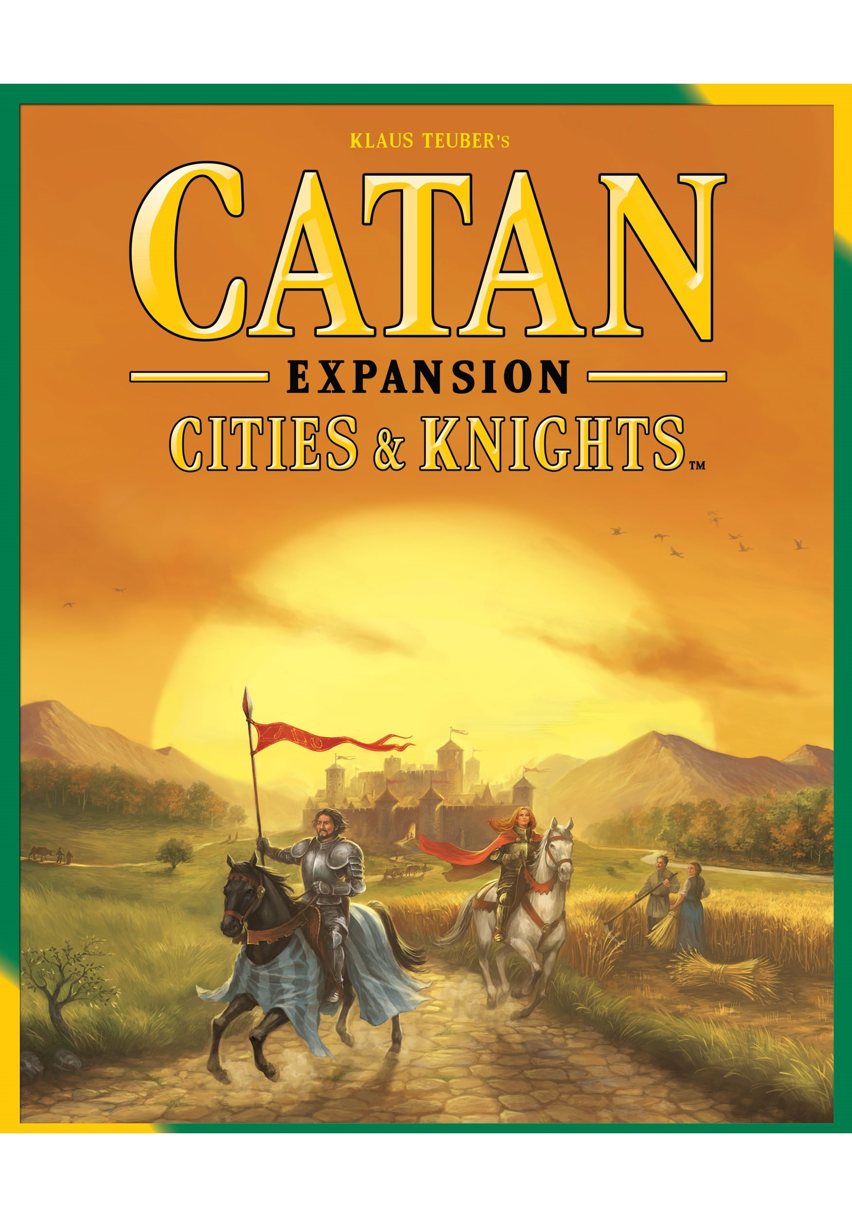 Cities and Knights Game: Catan Board Game Expansion