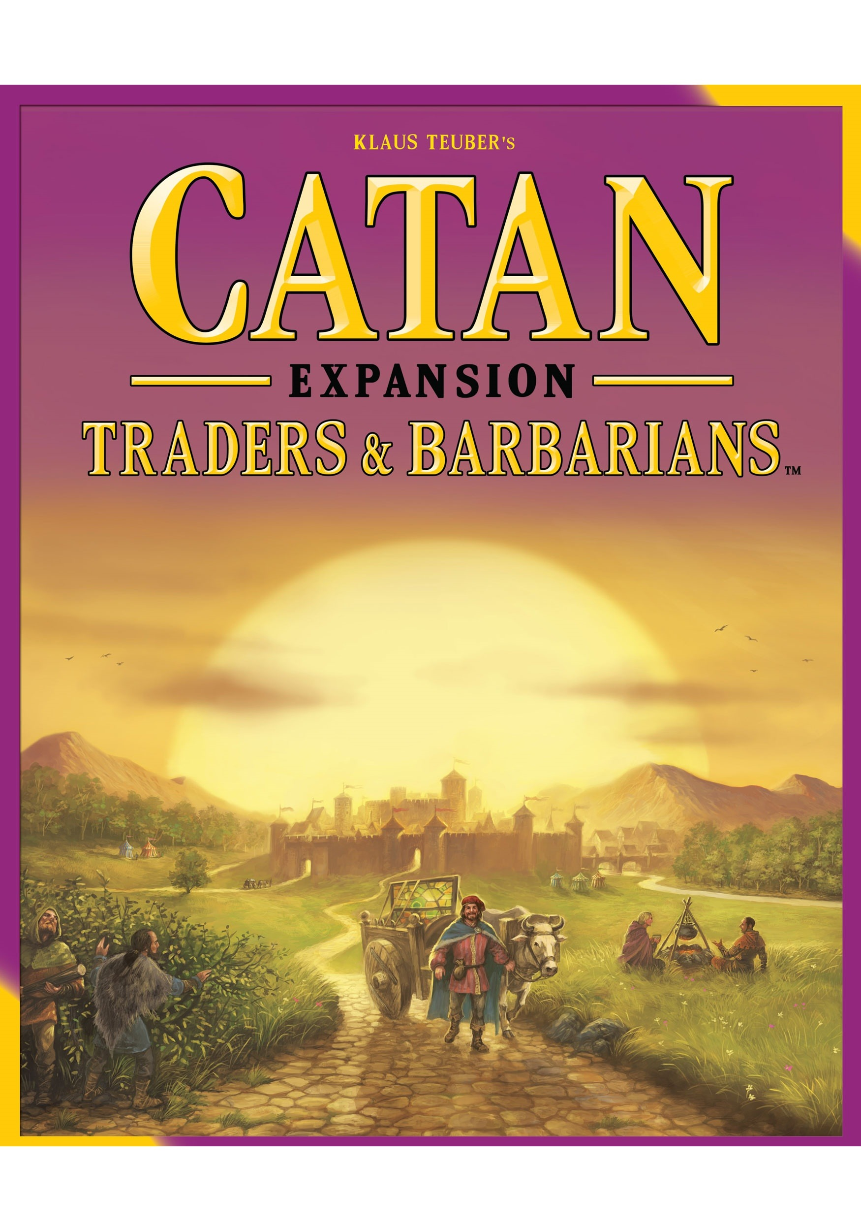 Traders and Barbarians Catan Board Game Expansion