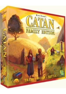 Catan: Catan Family Edition Board Game