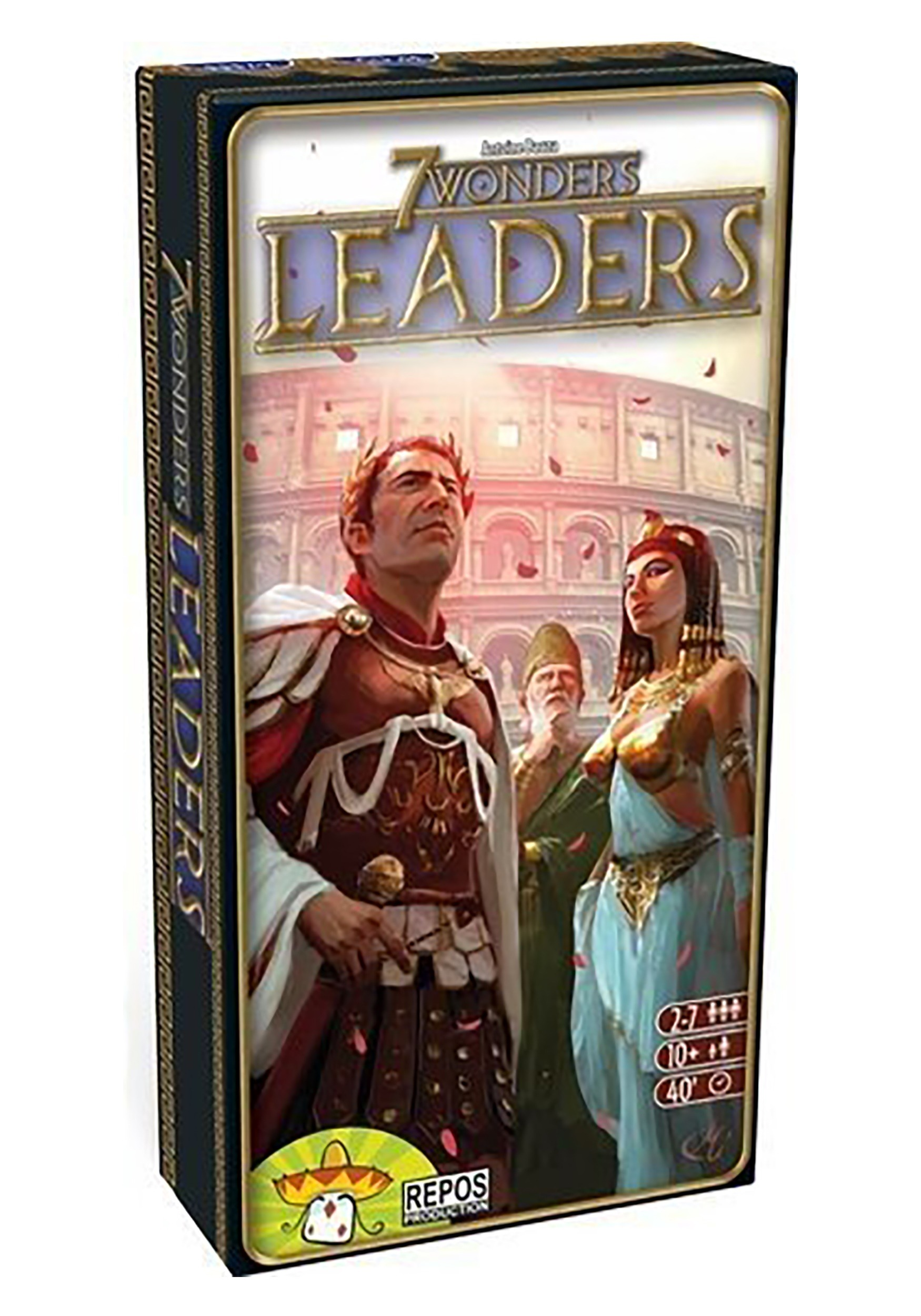 Leaders 7 Wonders Board Game Expansion