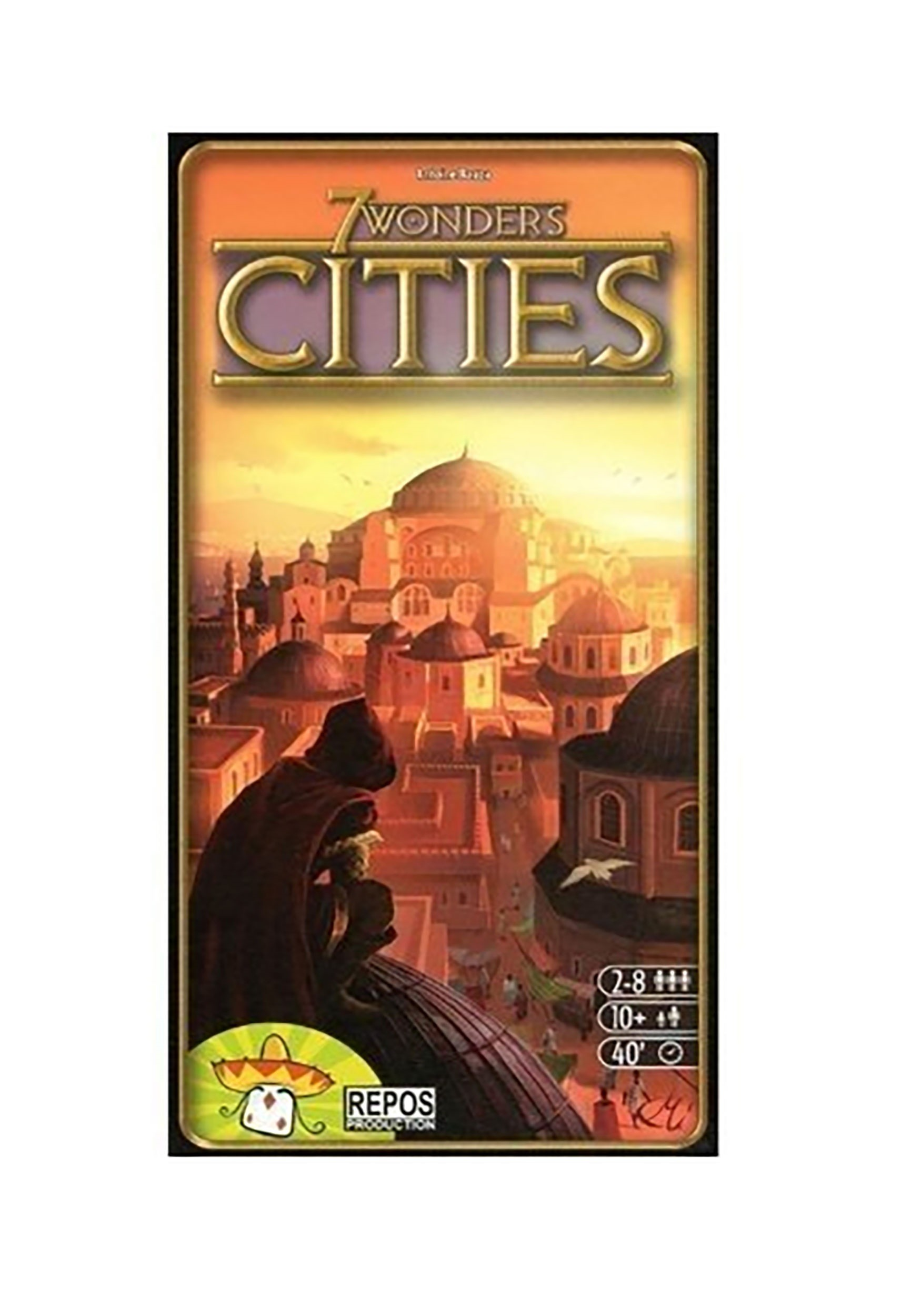 Cities 7 Wonders Board Game Expansion