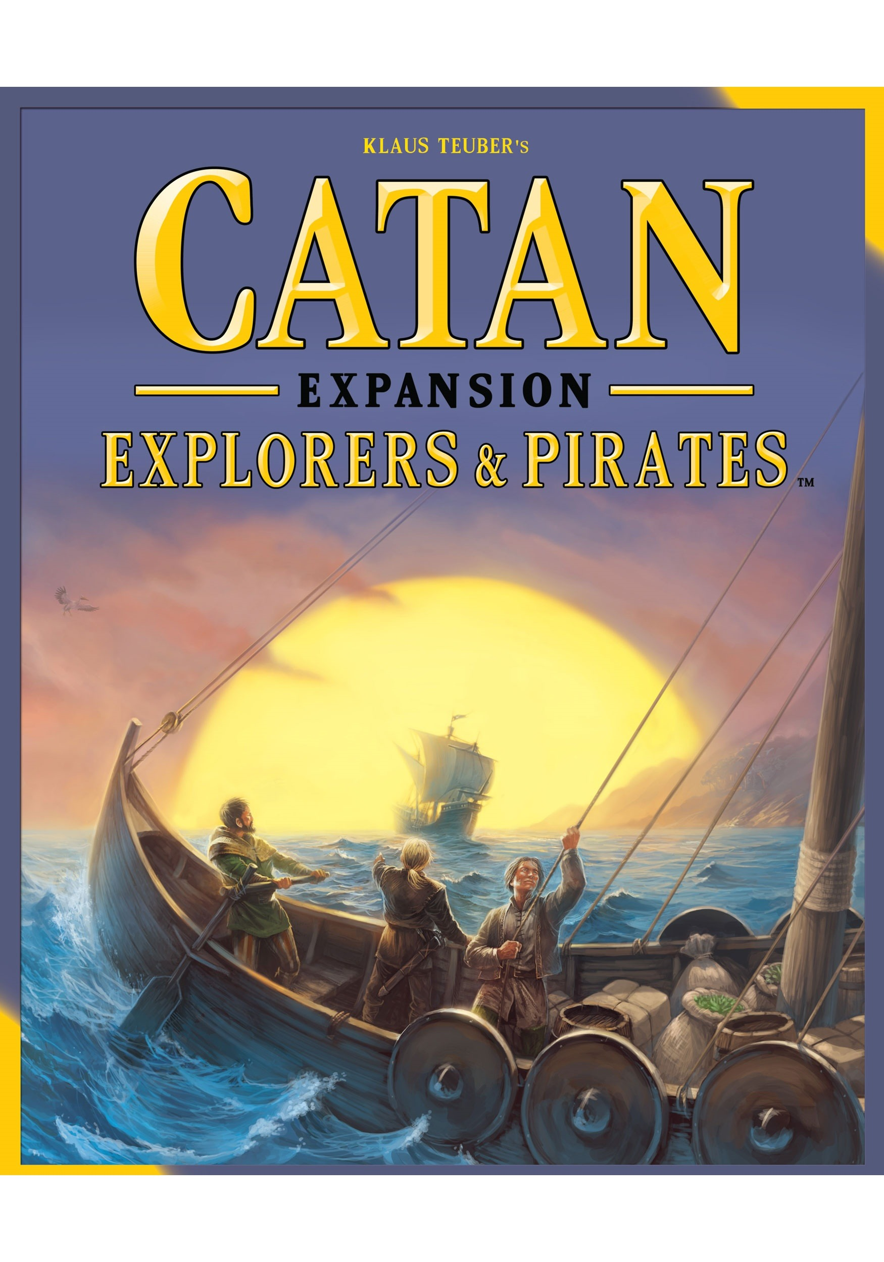 Catan Board Game Expansion: Explorers and Pirates