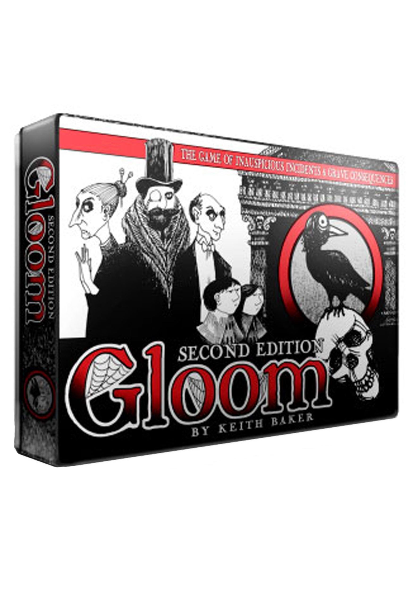 Gloom 2nd Edition Card Game