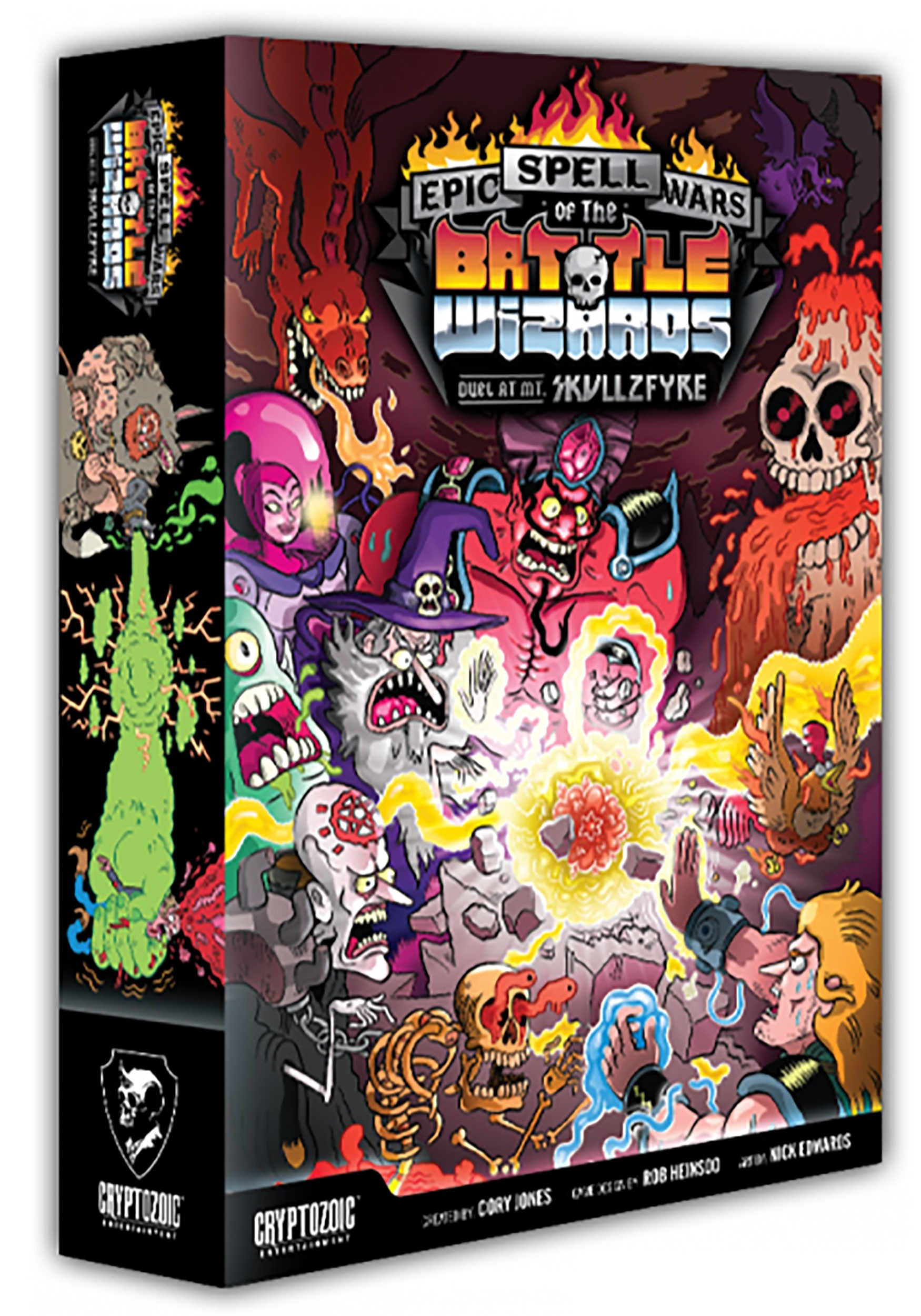 Duel at Mount Skullzfyre: Epic Spell Wars of the Battle Wizards Game