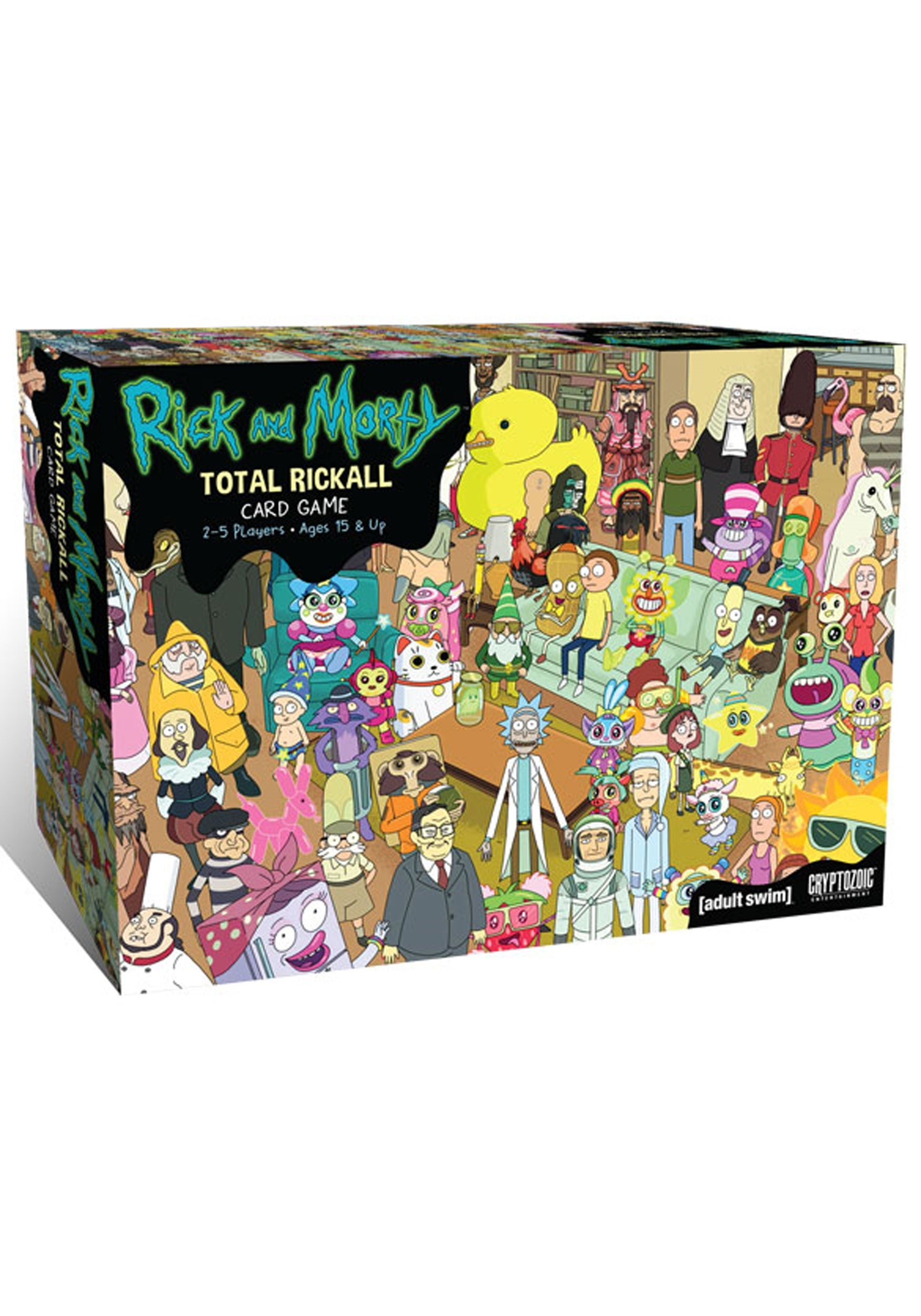 Total Rickall Cooperative Card Game: Rick and Morty