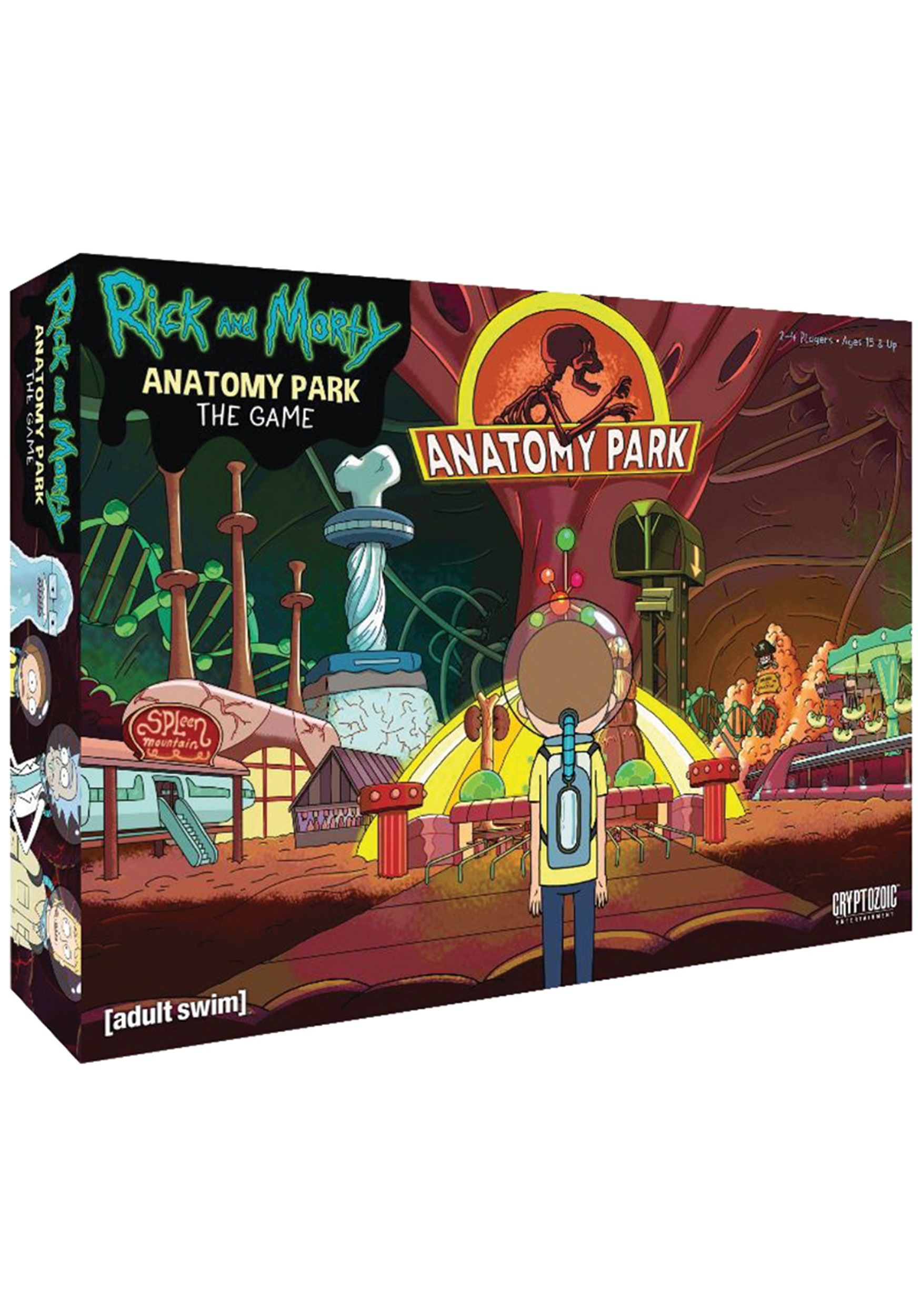Rick and Morty: Anatomy Park- The Game
