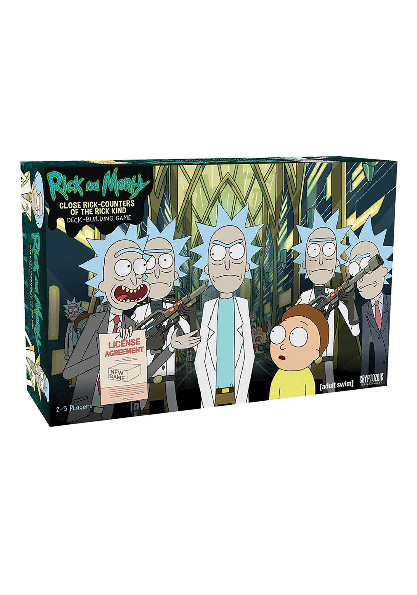 Close Rick-Counters Rick and Morty Deck Building Game