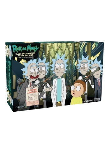 Rick and Morty Deck Building Game: Close Rick-Counters