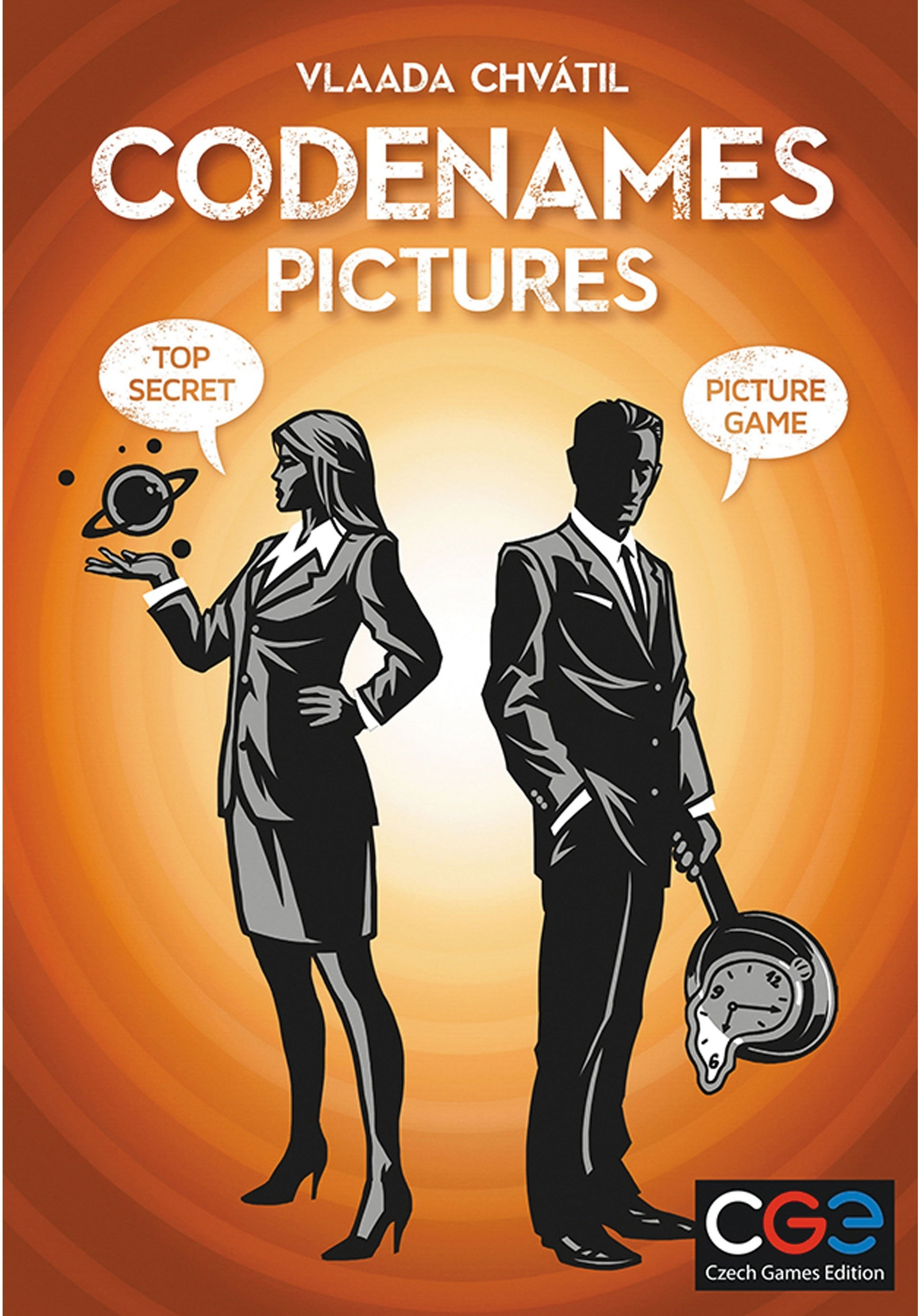 Codenames: Pictures Party Game