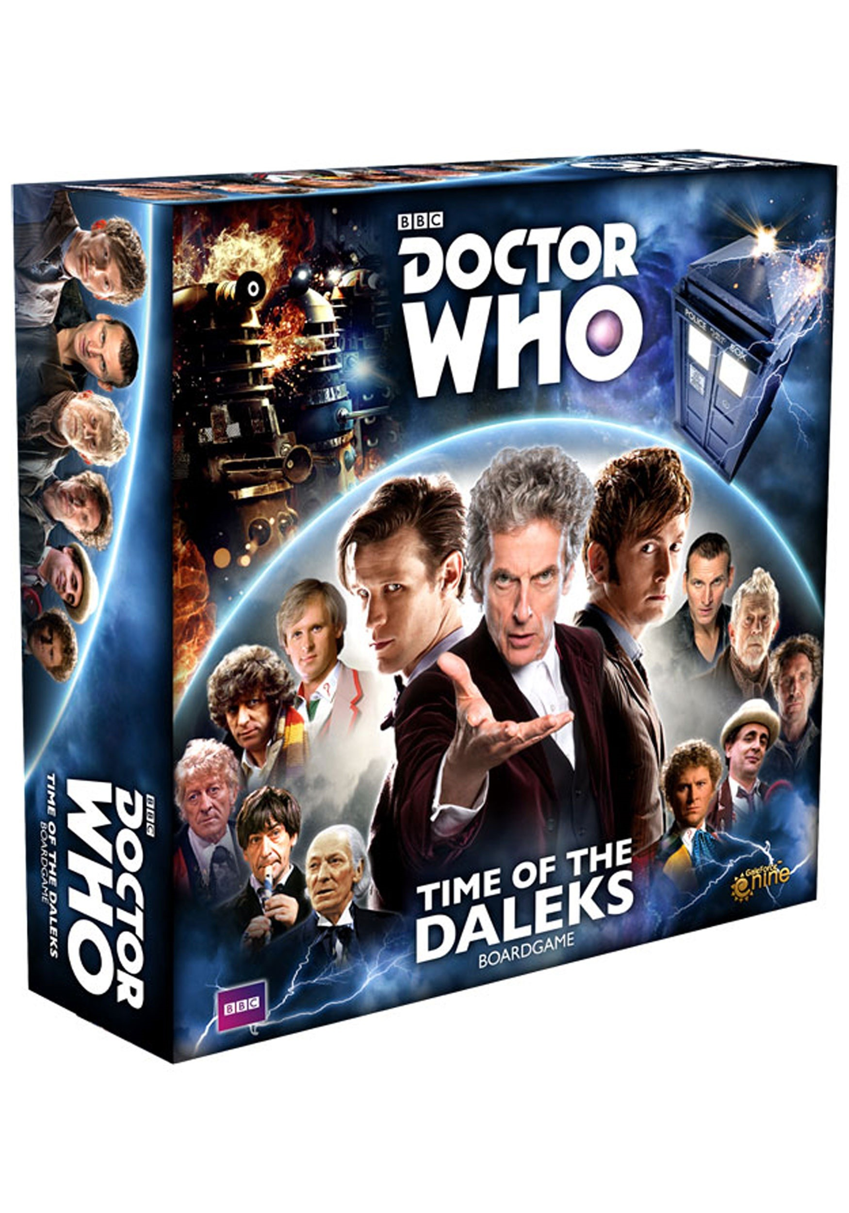 Time of the Daleks Doctor Who Board Game