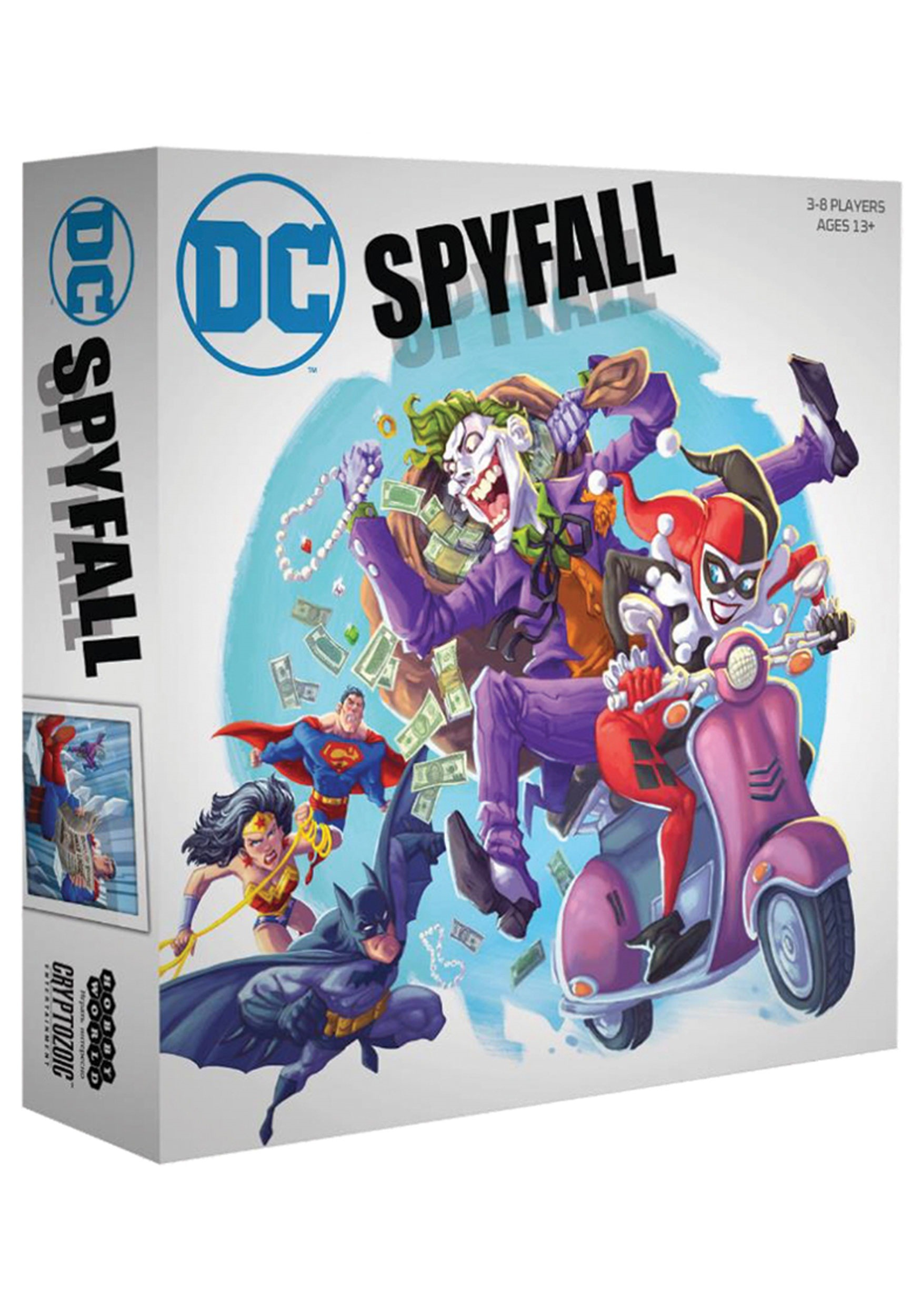 DC Comics Spyfall Card Game