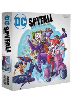 DC Comics Spyfall Card Game